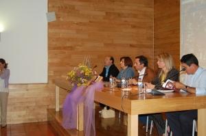 Dr. José Hermínio da Costa Machado, Dra. Isabel Pacheco, Presid. da Câm. Municipal de Montalegre, Dra. Gorete Afonso (Bibliot. Munic. de Montalegre) e Dr. João Azenha da Rocha
